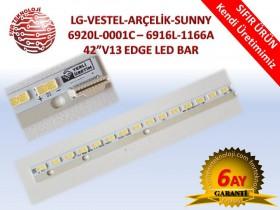 LG-VESTEL-ARÇELİK-SUNNY 6920L-0001C–6916L-1166A 42V13 EDGE LED BAR