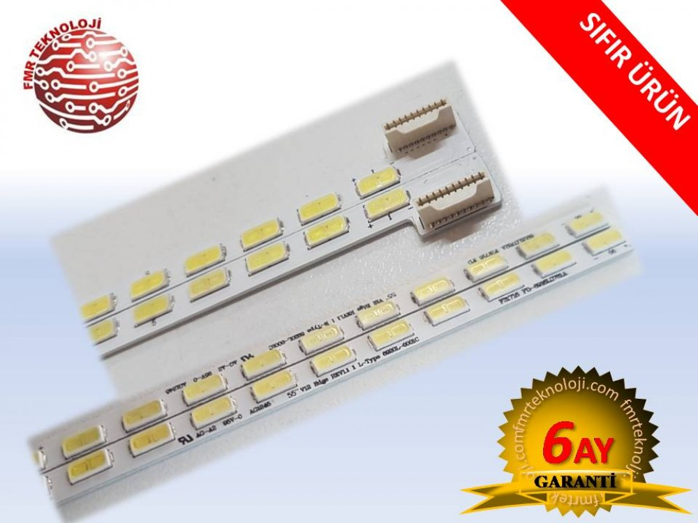 55V12 EDGE LED BAR TAKIMI