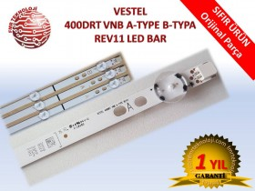 ORJİNAL VESTEL 400DRT VNB A-TYPE B-TYPA REV11 LED BAR V23331585 LB40017 17DLB40VXR1