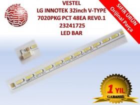 VESTEL LG INNOTEK 32inch V-TYPE 7020PKG PCT 48EA REV0.1 V23241725 LED BAR