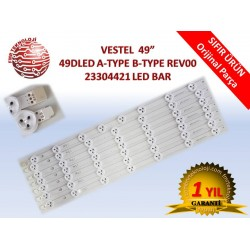 ORJİNAL VESTEL 49DLED A-TYPE B-TYPE REV00 LED BAR