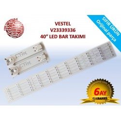 VESTEL V23339336 40UA9300 40UA8900 LED BAR TAKIMI
