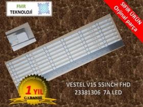 VESTEL 55FB7300 REGAL 55R6010F V15 55INCH FHD V23381306 LED BAR