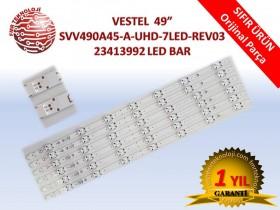VESTEL SVV490A45-A-UHD-7LED-REV03 V23413992 LED BAR