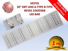 VESTEL 50inch DRT UHD A-TYPE B-TYPE REV01 V23429368 LED BAR