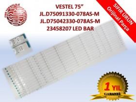 VESTEL 75inch JL.D75091330-078AS-M JL.D75042330-078AS-M 75UD9650 V23458207 LED BAR