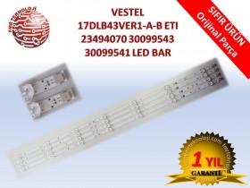 ORJİNAL VESTEL 17DLB43VER1-A-B ETI V23494070 V30099543 V30099541 LED BAR