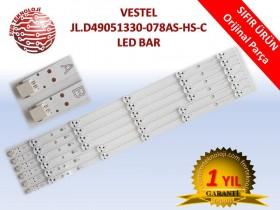 ORJINAL VESTEL 49 4A 2B LED BAR TAKIMI V23429647