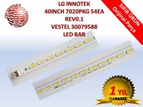 ORJINAL LG INNOTEK 40INCH 7020PKG 54EA REV0.1 LED BAR