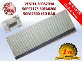 ORJINAL VESTEL 50PF7175 50PF8175 50FA8200 50FA7500 V30087094 50inch 7020PKG 72EA Rev1.0 LED BAR