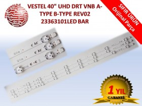 "VESTEL 40"" UHD DRT VNB A-TYPE B-TYPE REV02 V23363101 LED BAR"