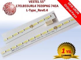 17ELB55ULR4 7020PKG 74EA L- TYPE REV0.4 LED BAR V30091320